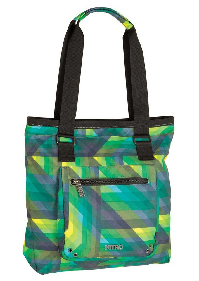 Nitro Shopper, »Tote Bag - Geo Green«