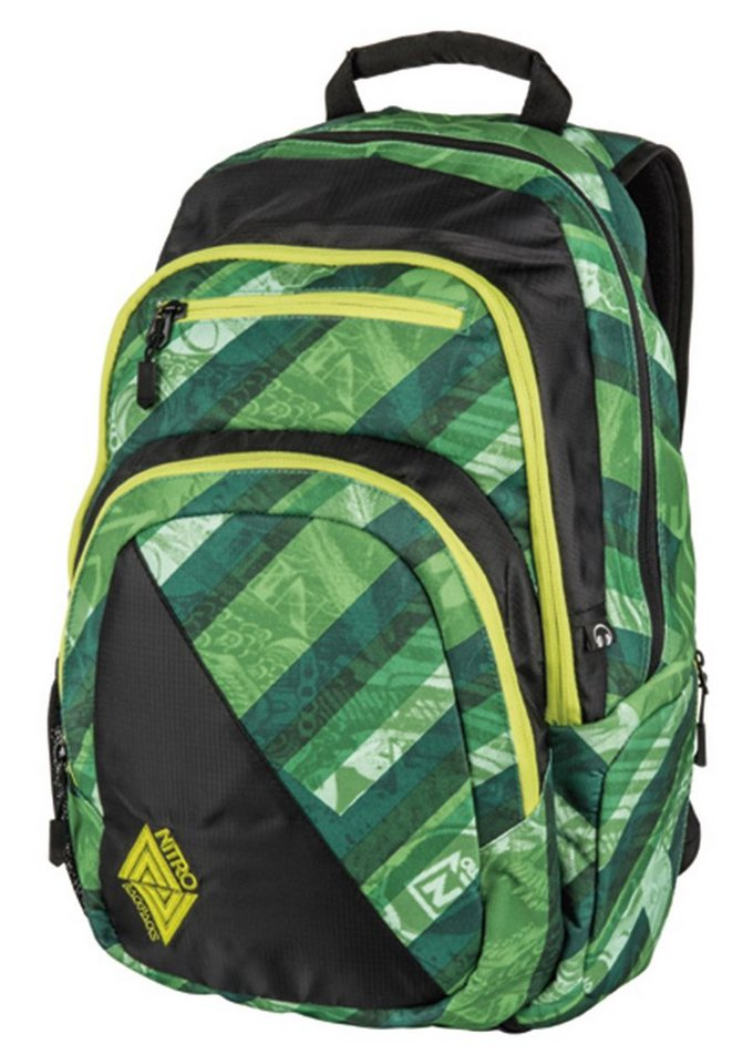 Nitro Schulrucksack, »Stash - Wicked Green«