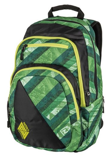 NITRO Schulrucksack »Stash - Wicked Green«