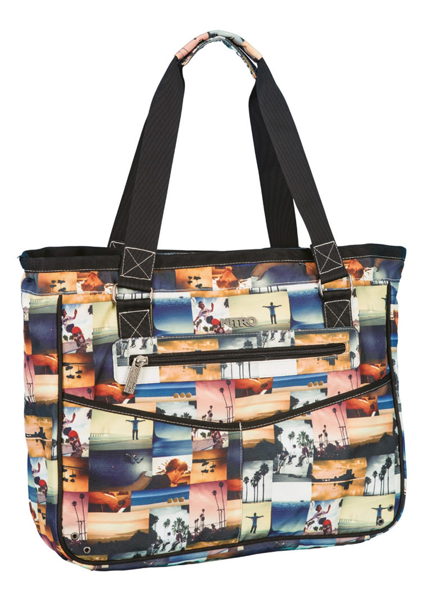 Nitro Umhängetasche mit Laptopfach, »Carry All Bag - California«