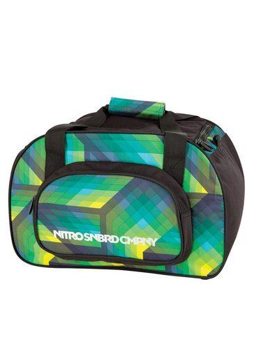 NITRO Reisetasche »Duffle Bag XS - Geo Green«