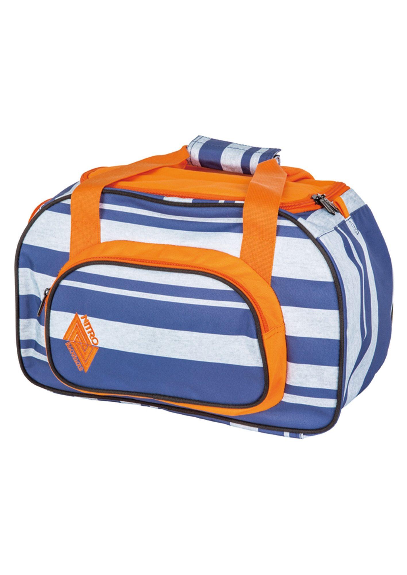 Nitro Reisetasche, »Duffle Bag XS - Heather Stripe«