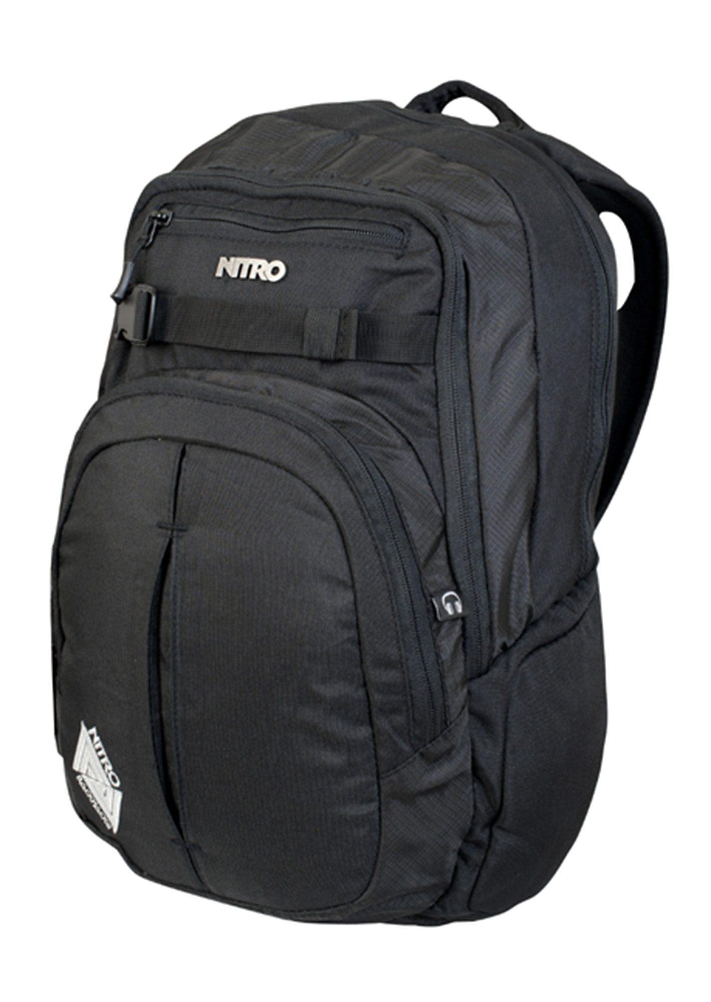 Nitro Schulrucksack, »Chase - Black«