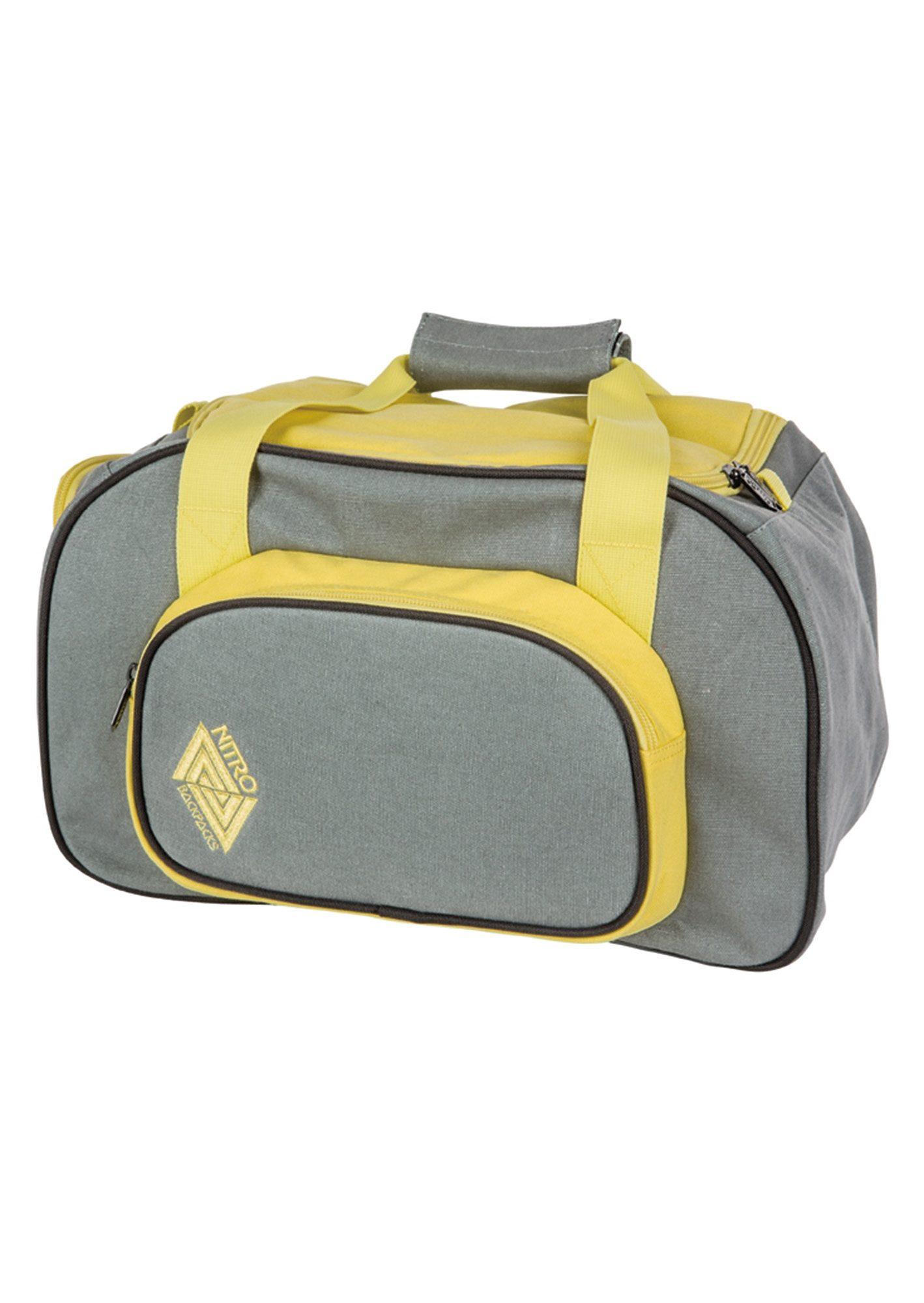 Nitro Reisetasche, »Duffle Bag XS - Gunmetal«