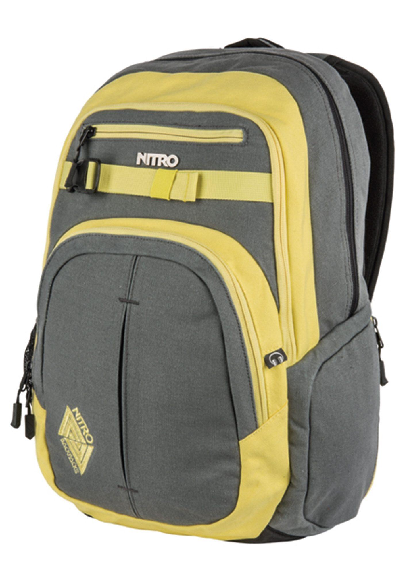 Nitro Schulrucksack, »Chase - Gunmetal«