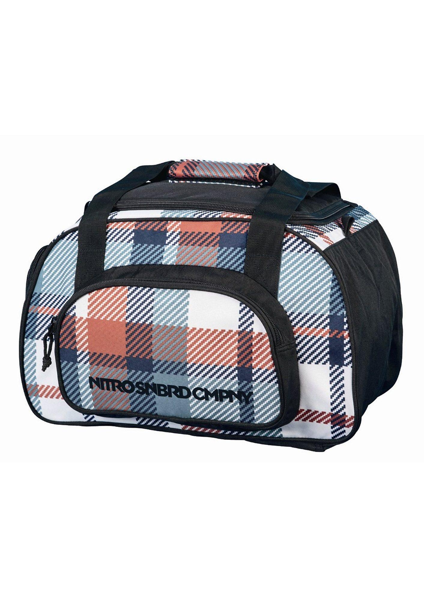 Nitro Reisetasche, »Duffle Bag XS - Meltwater Plaid«