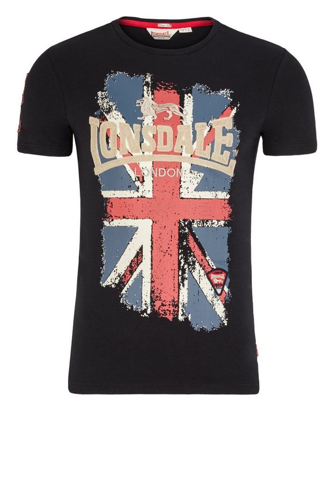 Lonsdale T-Shirt »JACOB« in Black