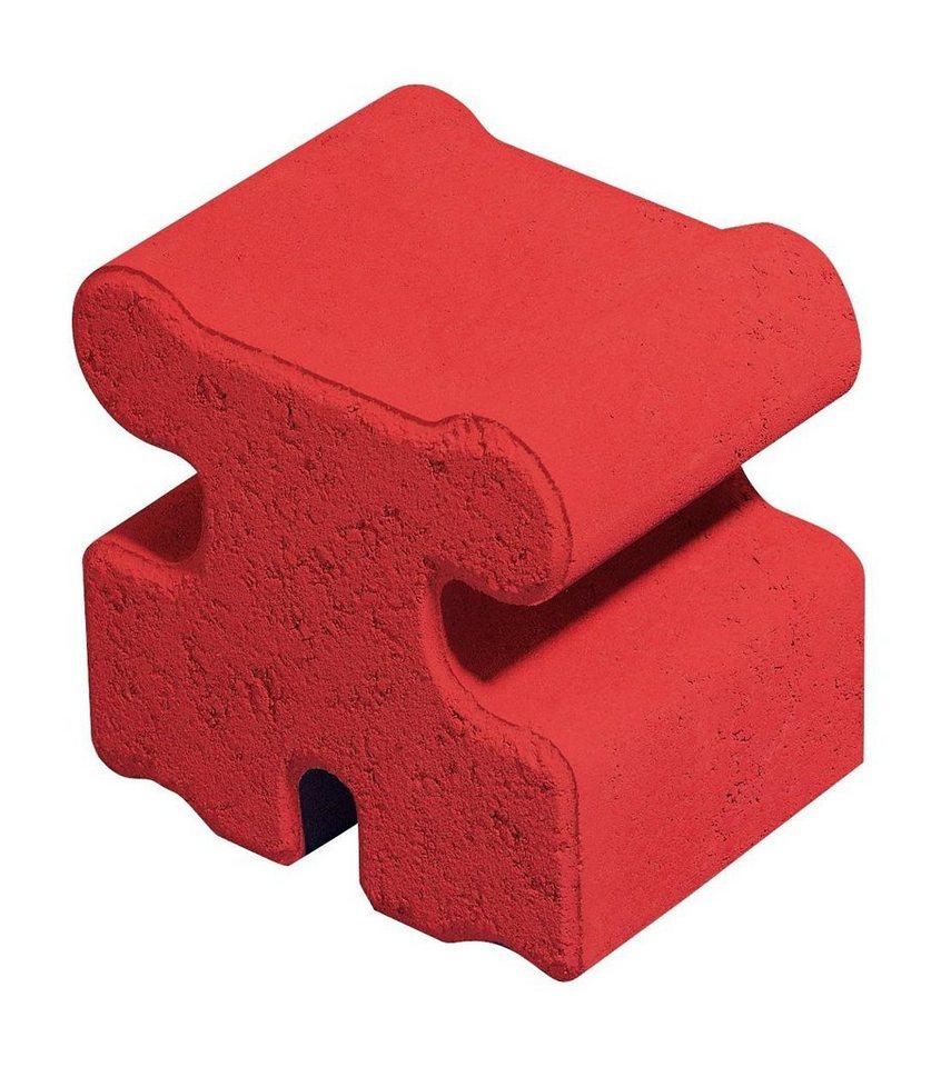 Ballastgewicht »Beton« in rot