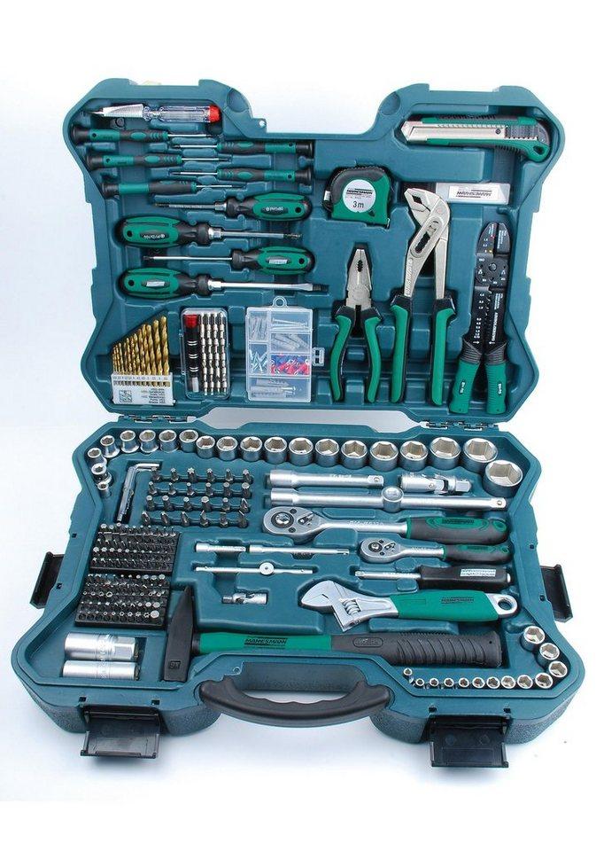 Werkzeugkoffer »(303-tlg.)« in grün