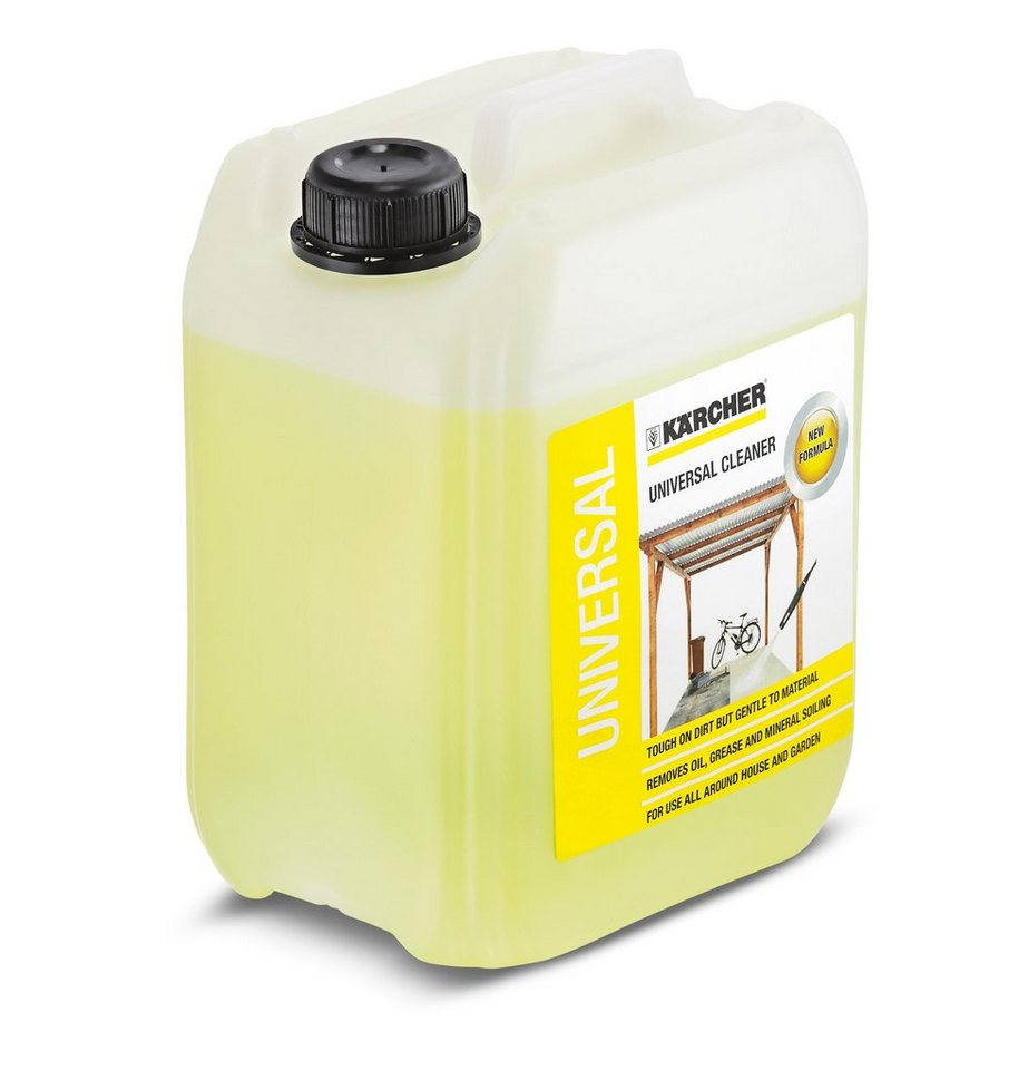 Reinigungsmittel »RM 555, 5 l« in gelb