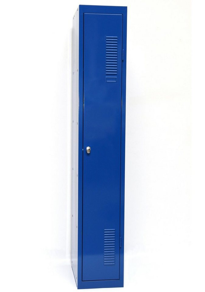 Sz Metall Spind 180x30, blau in blau