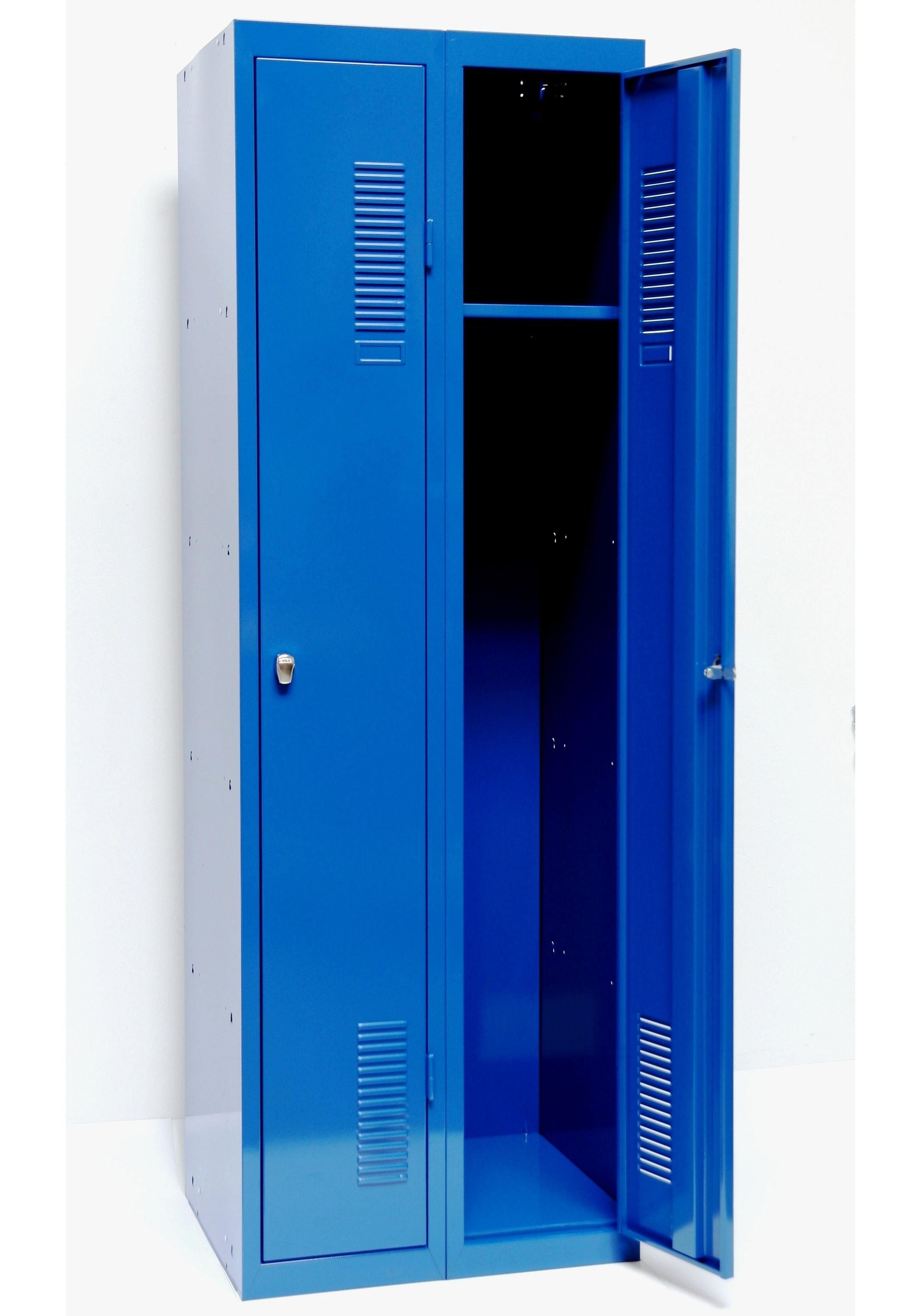 Sz Metall Spind 180 x 60, blau