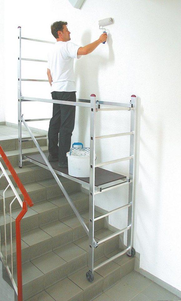 KRAUSE Arbeitsgerüst »Aluminium« in silberfarben