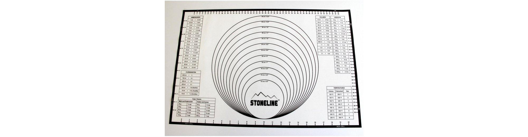 Silikon-Backmatte 2in1, STONELINE®