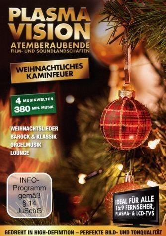 DVD »Plasma Vision - Weihnachtliches Kaminfeuer«