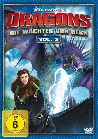 DVD »Dragons - Die Wächter von Berk, Vol. 3«