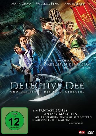 DVD »Detective Dee und der Fluch des Seeungeheuers«