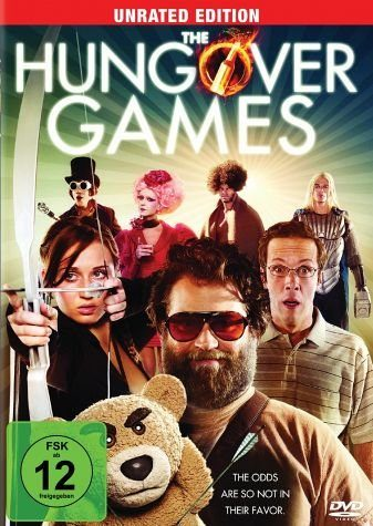 DVD »The Hungover Games (Unrated Edition)«