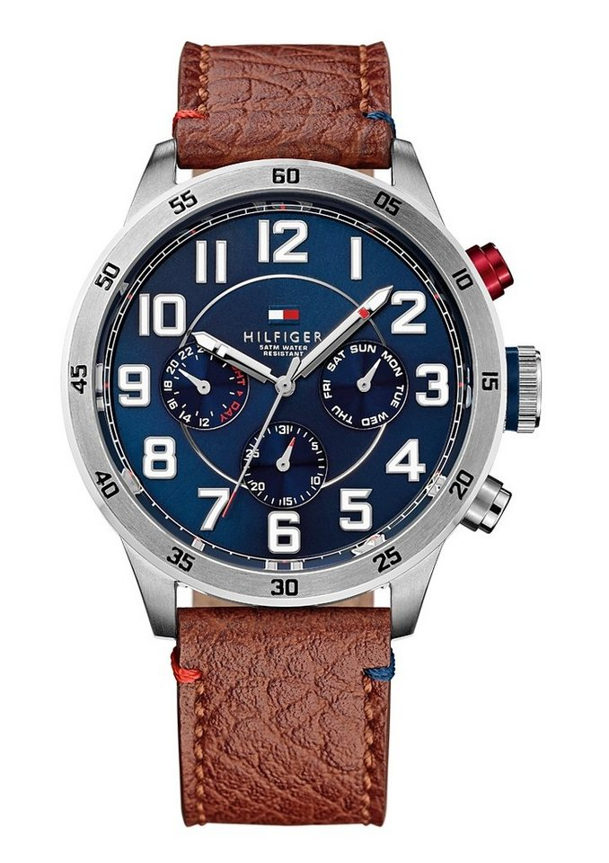 "Tommy Hilfiger, Multifunktionsuhr, ""1791066"" in braun"