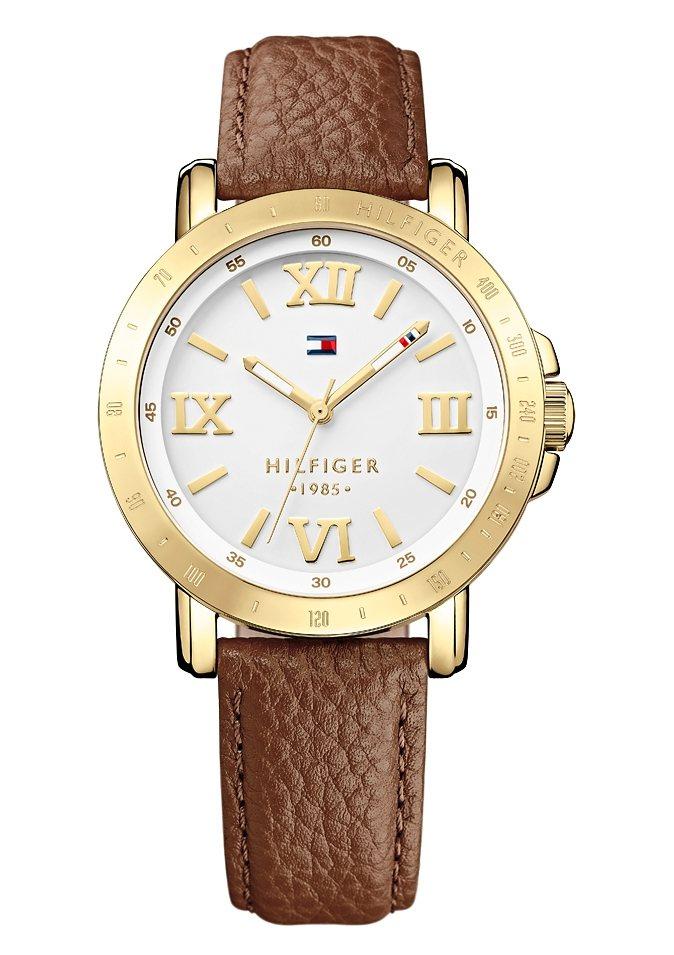 "Tommy Hilfiger, Armbanduhr, ""1781438"" in braun"