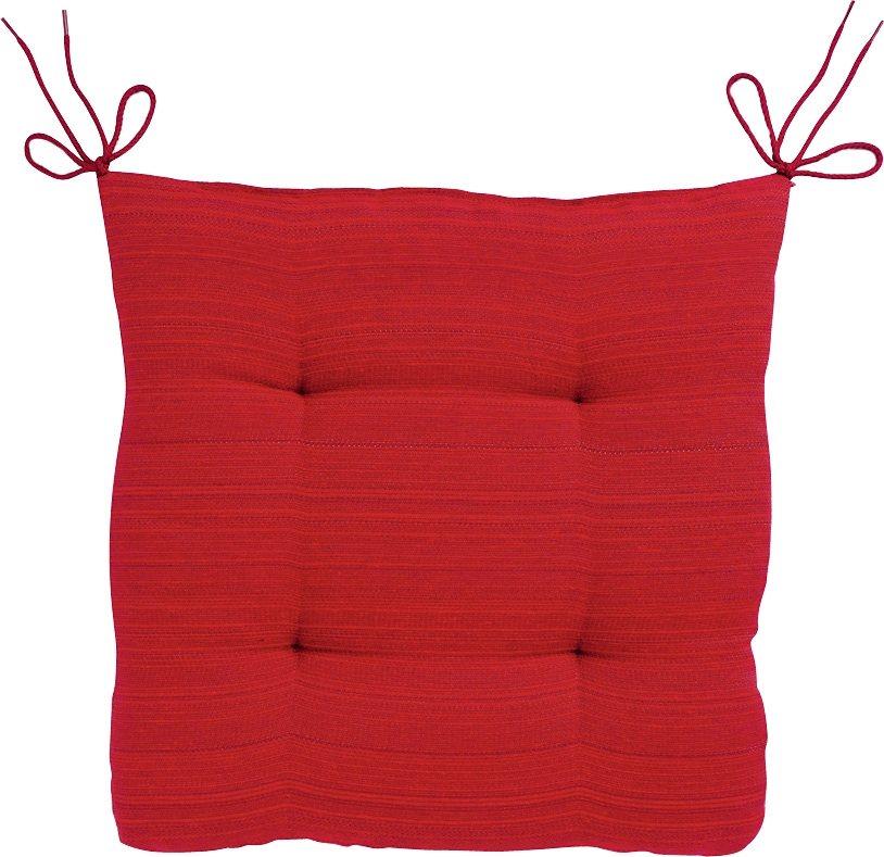 Sitzkissen, Dohle & Menk, »Ribeira Rita«, mit feinen Streifen in rot