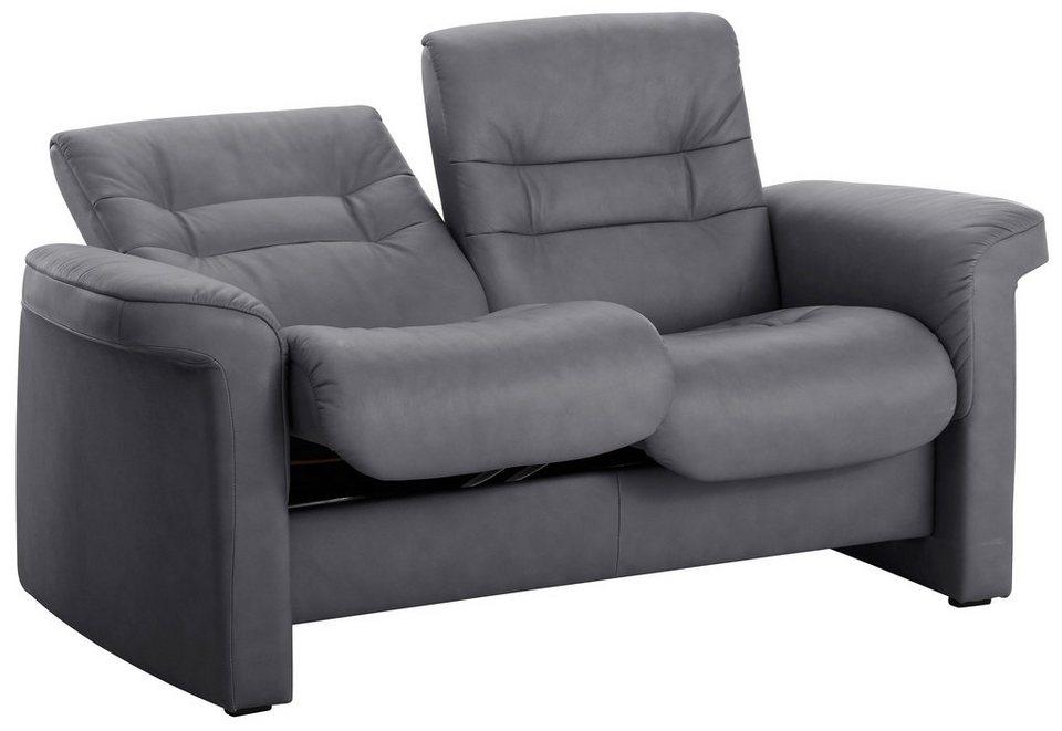 Stressless® 2-Sitzer Sofa Low, Stressless®, »Sapphire« in grey