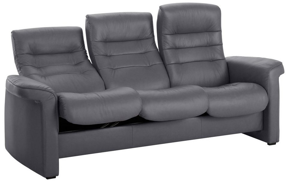 Stressless® 3-Sitzer Sofa High »Sapphire«, in Kinosessel-Optik in grey