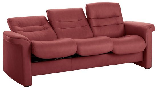 Stressless® 3-Sitzer »Sapphire«, mit Low Back, inklusive Relaxfunktion & Rückenverstellung, Breite 209 cm