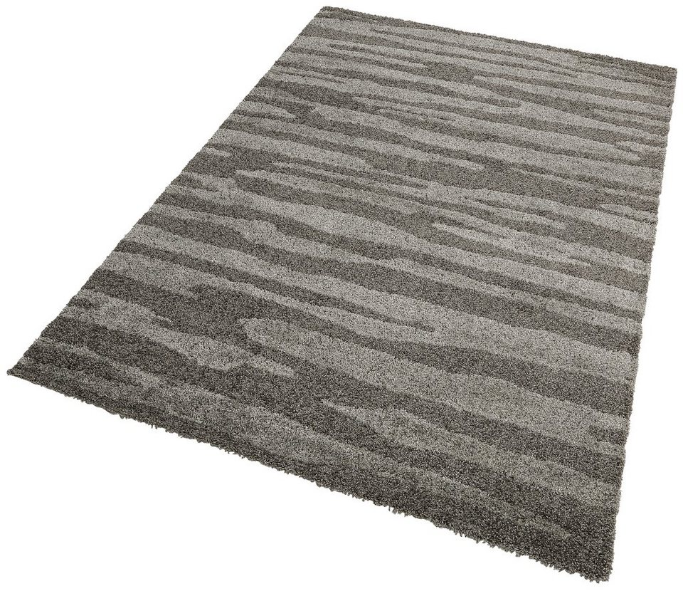 Teppich, my home, »Bastian1«, gewebt in grau