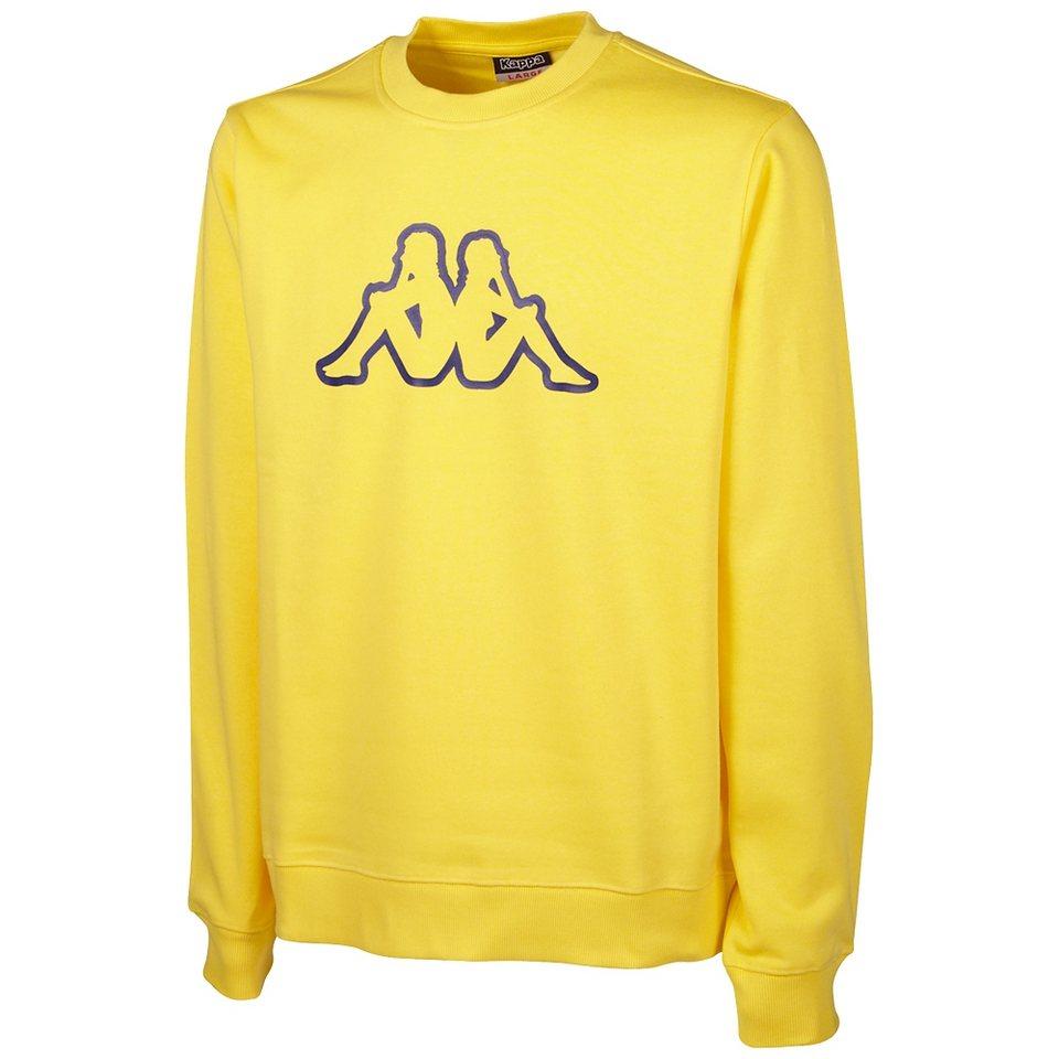 KAPPA Sweatshirt »PAGGO« in aspen gold
