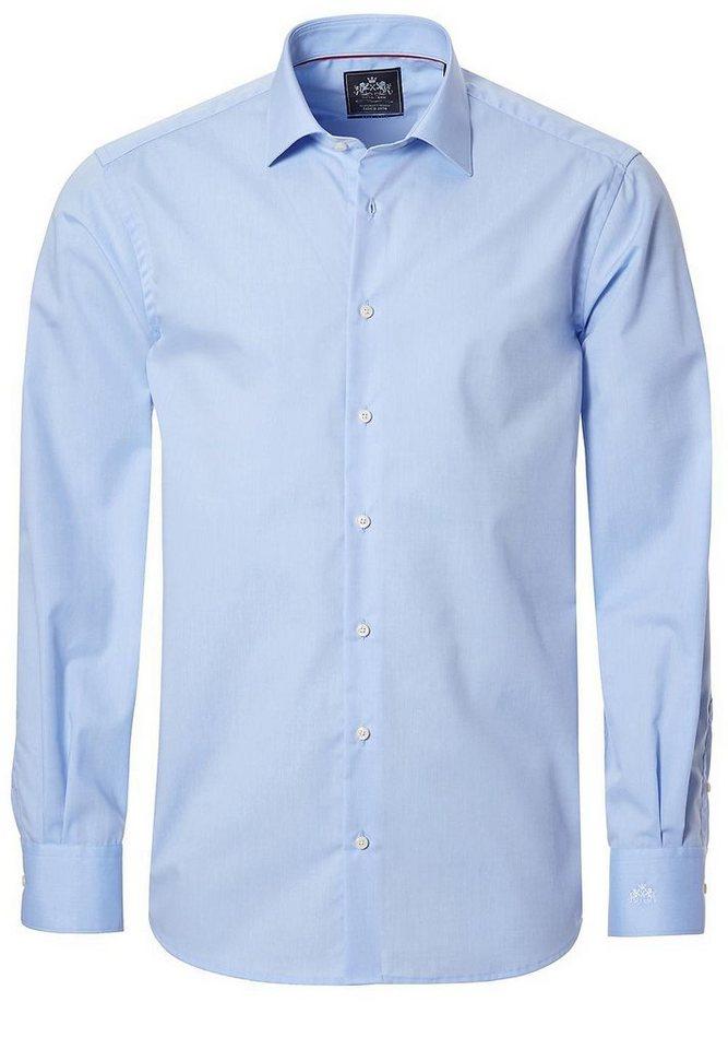 OTTO KERN City-Hemd mit Kent-Kragen in hellblau