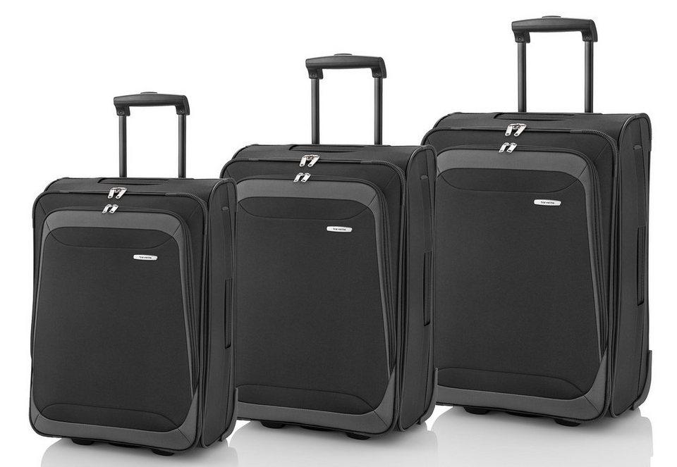 travelite trolley set mit 2 rollen portofino 3tlg online kaufen otto. Black Bedroom Furniture Sets. Home Design Ideas