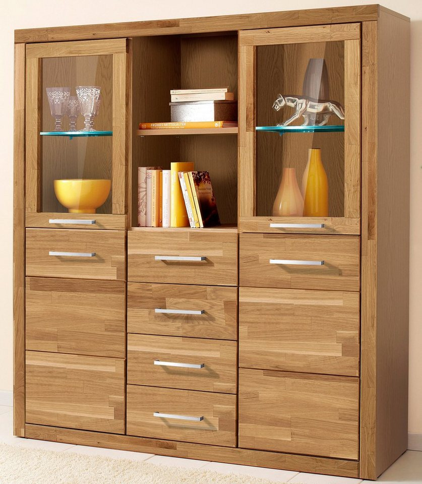 highboard paula breite 130 cm online kaufen otto. Black Bedroom Furniture Sets. Home Design Ideas