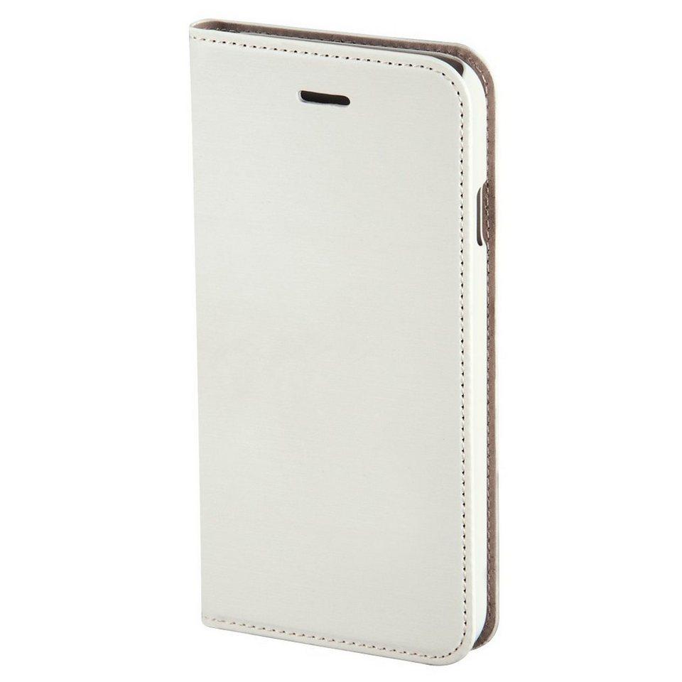 Hama Booklet Slim für Apple iPhone 6, Weiß in Weiß