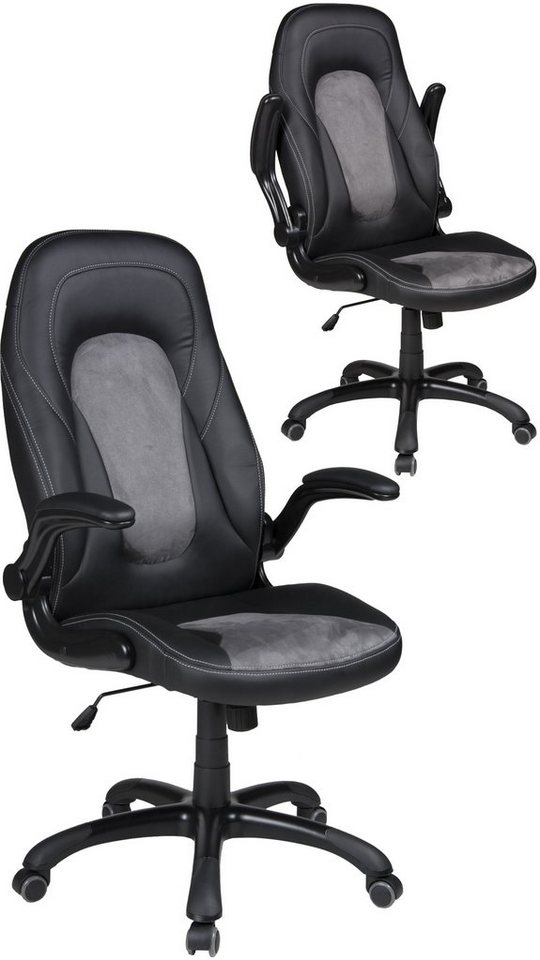 DUO Collection Chefsessel »Tino« in schwarz-grau