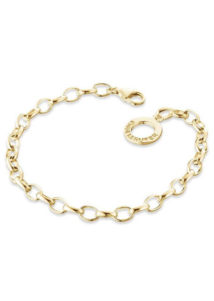 Charms-Armband, »ERB-195-G«, Engelsrufer in silber 925/vergoldet