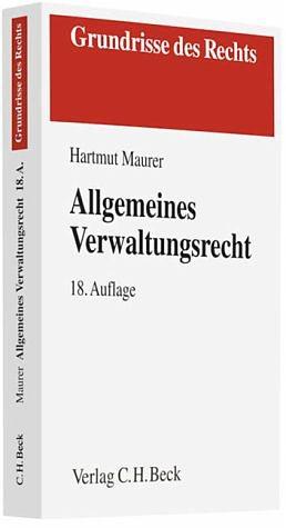 Broschiertes Buch »Allgemeines Verwaltungsrecht«