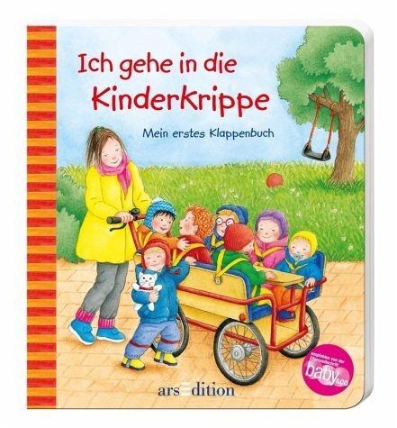 Buch mit Papp-Einband »Ich gehe in die Kinderkrippe«