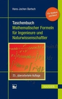 Buch mit Kunststoff-Einband »Taschenbuch mathematischer Formeln für...«