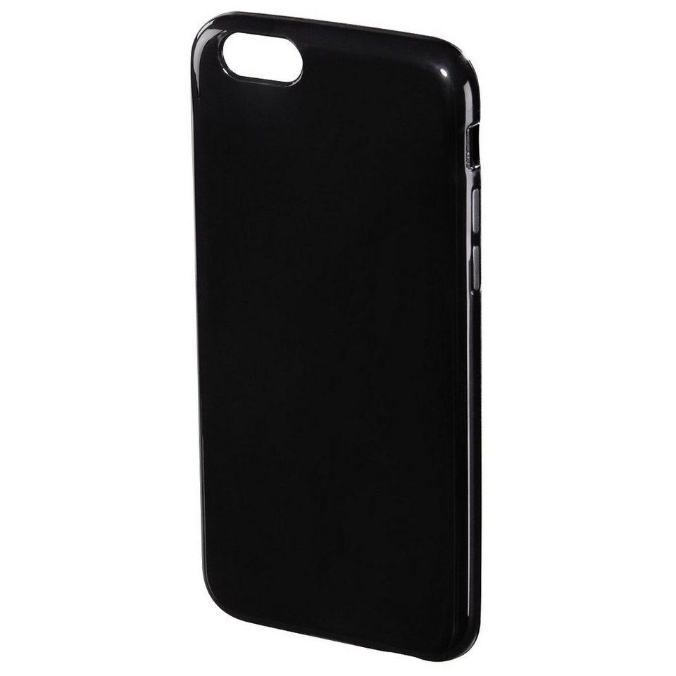 Hama Cover Crystal für Apple iPhone 6/6s, Schwarz in Schwarz