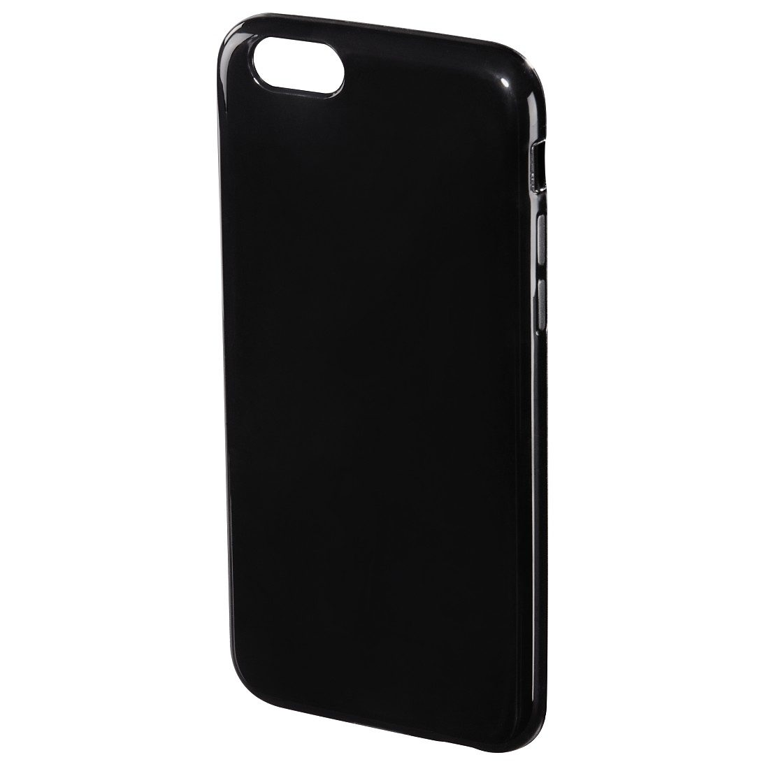 Hama Cover Crystal für Apple iPhone 6/6s, Schwarz