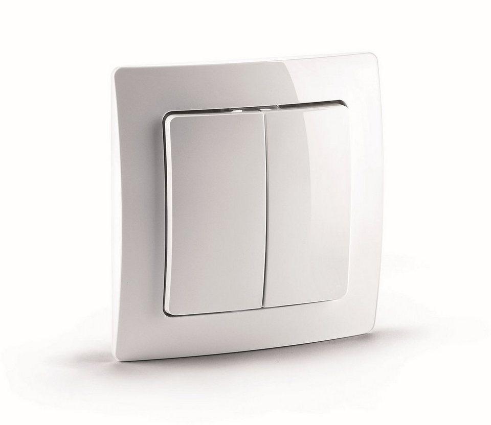 DEVOLO Smart Home Z-Wave »Home Control Funkschalter, Hausautomation,Schalter« in weiß