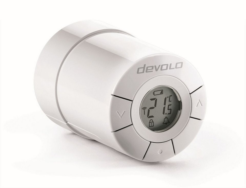 DEVOLO Smart Home Z-Wave »Home Control Heizkörperthermostat,ZWave,sehr leise« in weiß