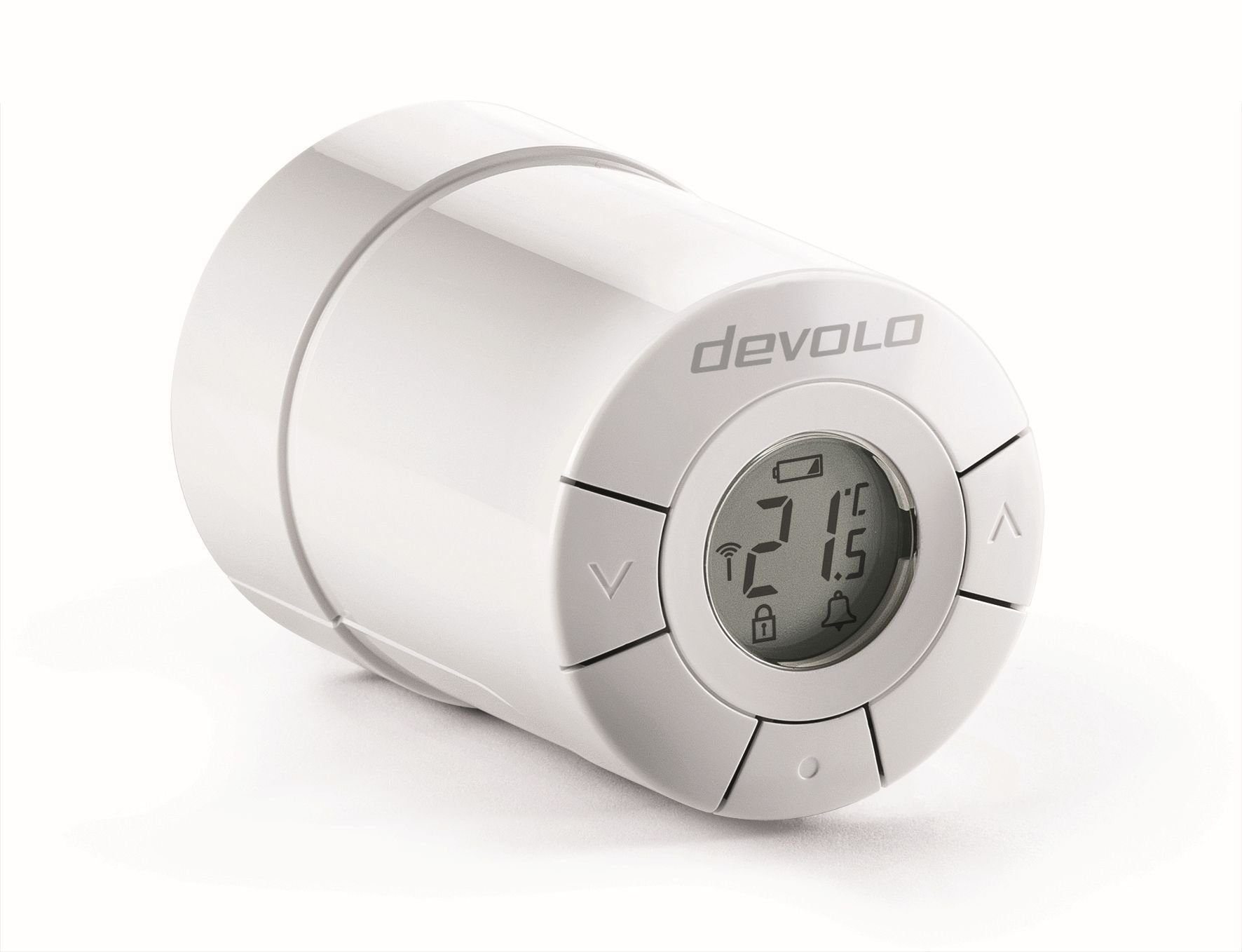 DEVOLO Smart Home Z-Wave »Home Control Heizkörperthermostat,ZWave,sehr leise«