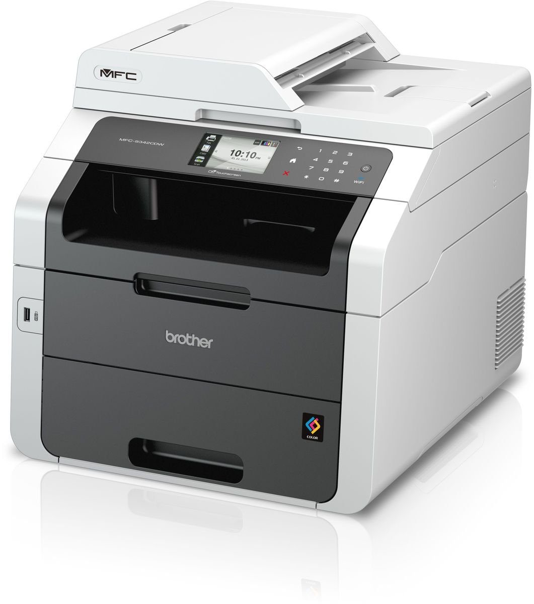 Brother Farblaser-Multifunktionsdrucker »MFC-9342CDW 4in1«
