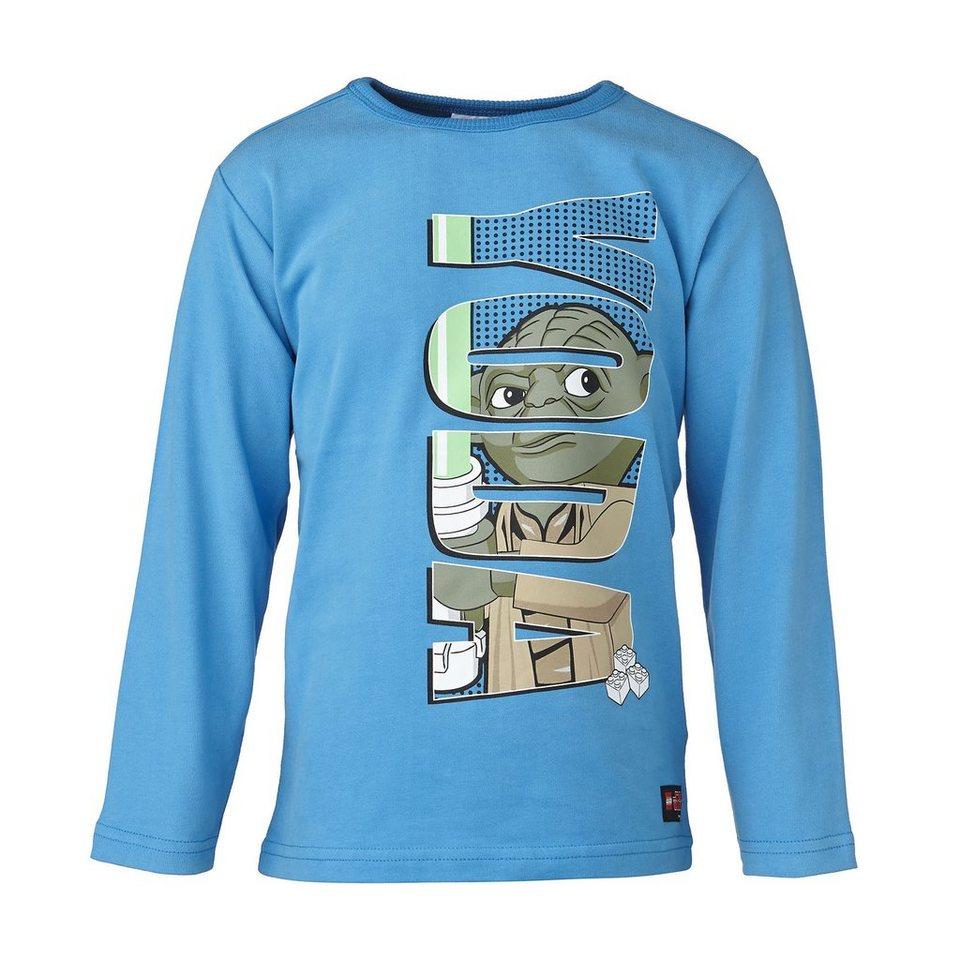 "LEGO Wear STAR WARS(TM) Langarm-T-Shirt Tristan ""Yoda"" Shirt in medium denim"
