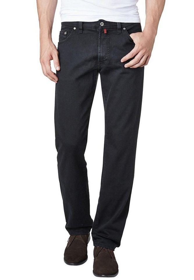 PIERRE CARDIN Jeans - Regular Fit »Deauville« in SCHWARZ