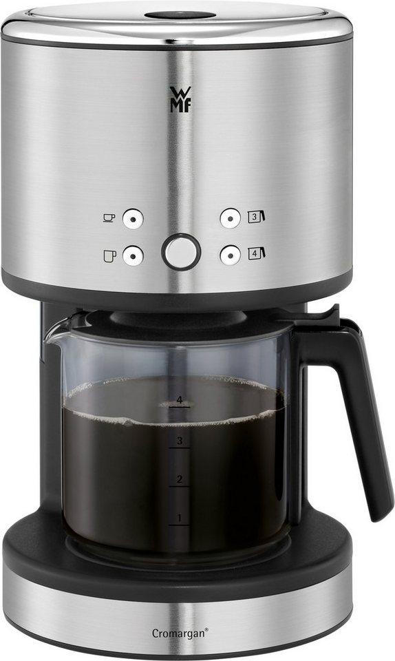 WMF Kaffeemaschine Aroma One, 27,7 cm Höhe, 16,4 cm Breite in silberfarben