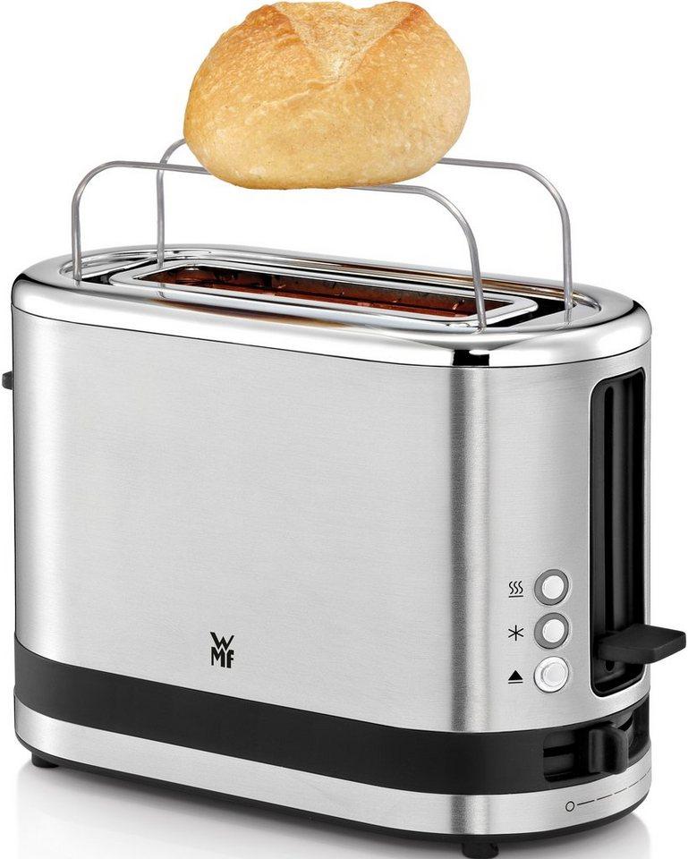 WMF KÜCHENminis® Toaster, für 1 Scheibe, 600 Watt in Cromargan® matt