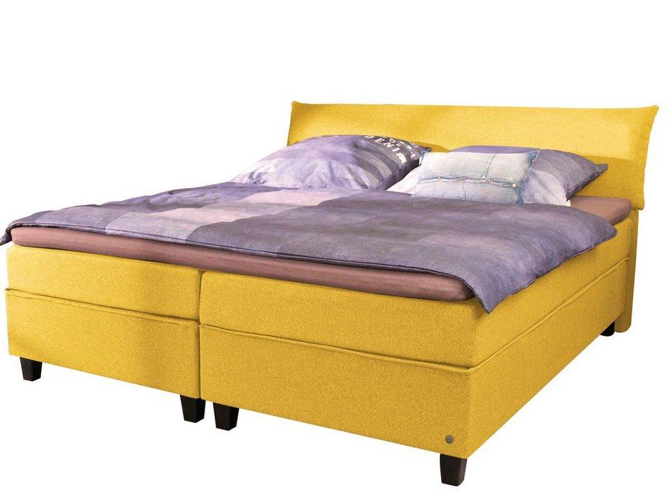 tom tailor boxspringbett color box luxus microfaser. Black Bedroom Furniture Sets. Home Design Ideas